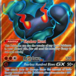 Marshadow Gx Full Art (#137/147) - Sombras Ardentes