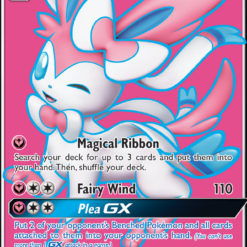 Carta Pokémon Sylveon GX Full Art (#140/145) - Guardiões Ascendentes